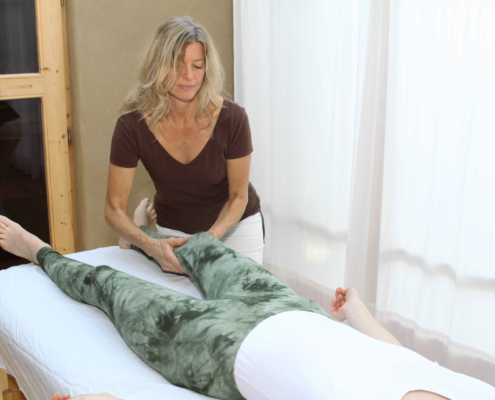 Trager Massage, wie geht es leichter